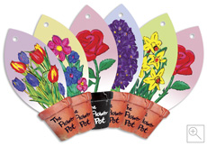Flower Pot Collection - Car Air Fresheners