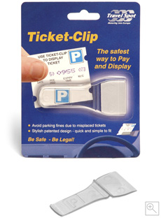 Ticket Clip: Parking Ticket Holder